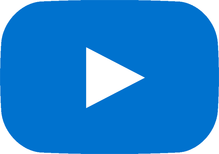 youtube blue logo